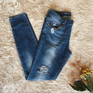 Articles of Society - Distressed Skinny Jeans